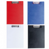 A4 PVC Clipboard With Folding Cover and Inner Plastic Sleeve